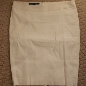 Like a off white bebe pencil skirt